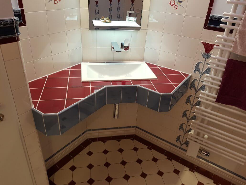 badrenovierung jugendstil fliesen sanit rstudio albbruck. Black Bedroom Furniture Sets. Home Design Ideas